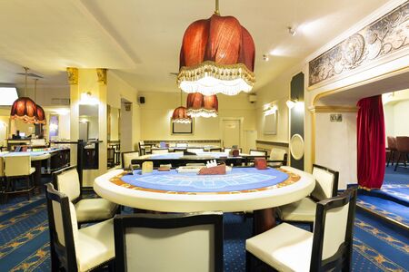 blackjack: Blackjack tables at the casino