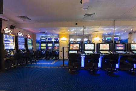 slot machines: Slot machines at the casino