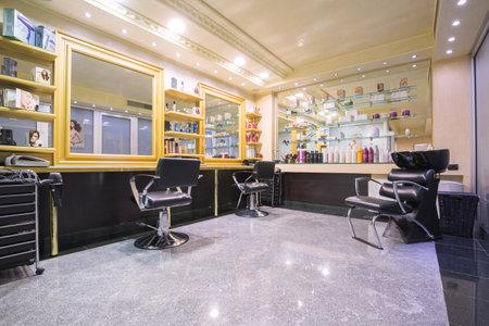 hair salon: Novi Sad, Serbia - 03.11.2015. Best Western Prezident Hotel Editorial