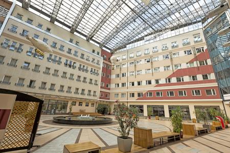 courtyard: Spacious modern courtyard