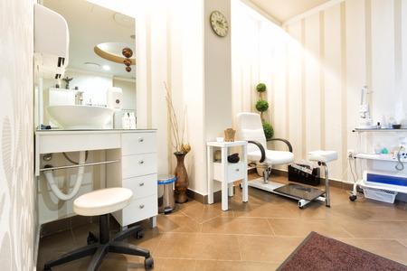 Beauty clinic interior