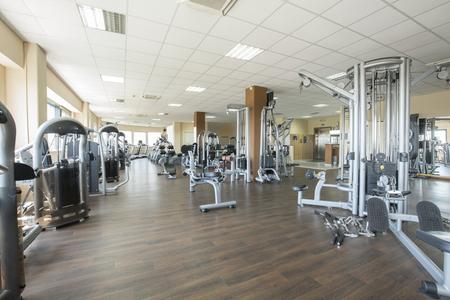 현대 체육관 내부