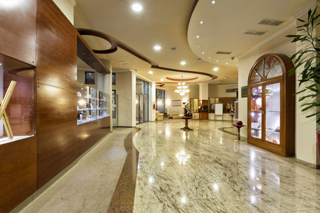 高級ホテルのロビー 写真素材 - 47017844