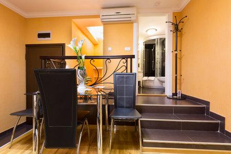 luxury apartment: Luxury apartment interior Editorial
