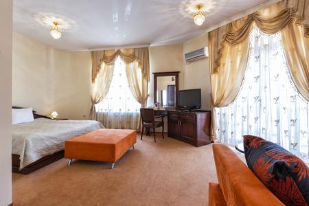 luxury room: Luxury hotel room interior Stock Photo
