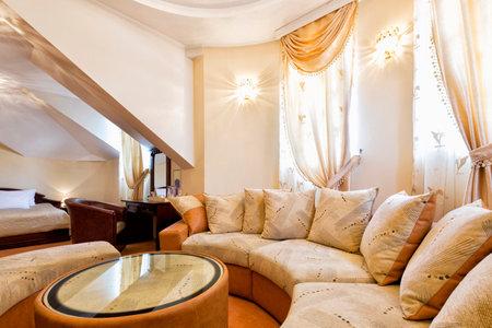 hotel suite: Luxury hotel suite interior