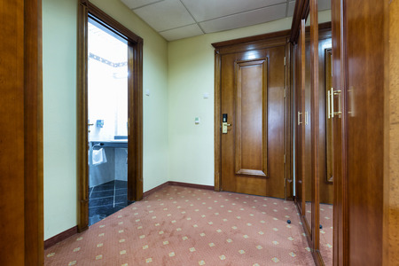 entrance hall: Entrance hall in a hotel room