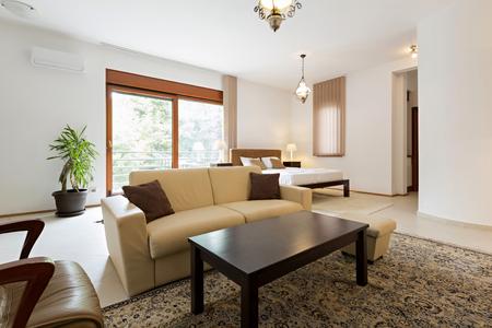 luxury apartment: Interior of a luxury apartment Stock Photo