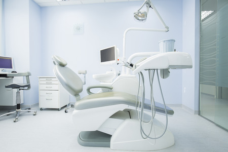 Moderne tandartspraktijk inter Stockfoto - 48893596