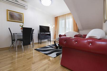 hotel suite: Interior of a hotel suite