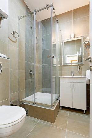 dryer  estate: Interior of a modern bathroom