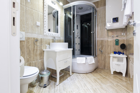 Bathroom interior 免版税图像