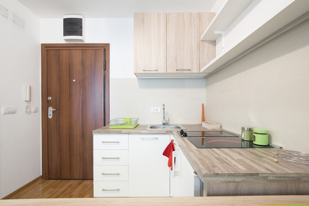 small room: Interior of a modern kitchen