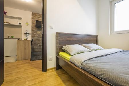hotel room door: Interior of an elegant apartment