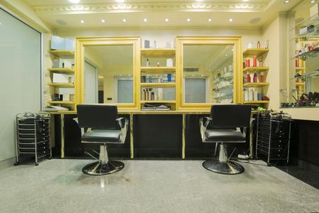 Interno di un salone di bellezza