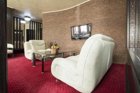 hotel suite: Elegant hotel suite interior