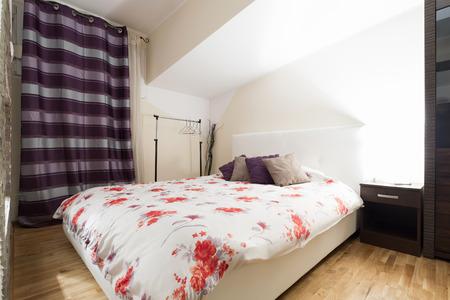 interior bedroom: Interior of a modern bedroom