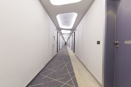 Corridor in a modern building