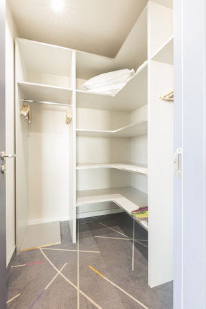 walk in closet: Walk in closet interior Stock Photo