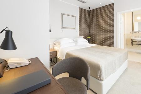 master bedroom: Interior of a modern hotel bedroom