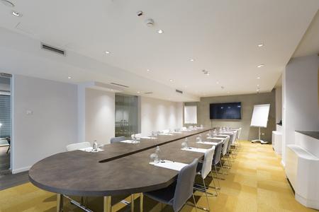 Wnętrze sali konferencyjnej