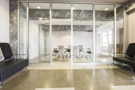 interior room: Interior of a modern meeting room