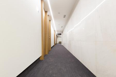 hotel building: Corridor in hotel building