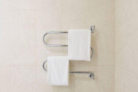 warmer: Towel warmer in bathroom