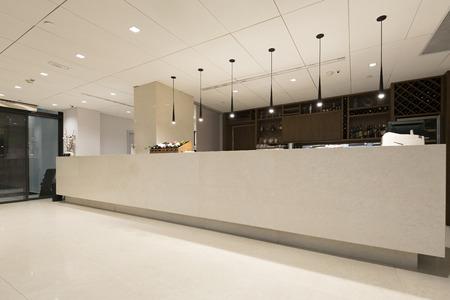 호텔 리셉션 데스크