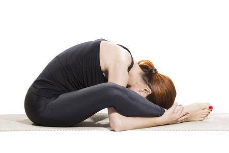 baddha: Yoga Bound Angle Pose Variation - Baddha Konasana