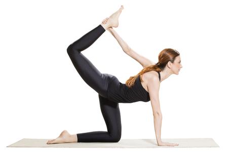 dhanurasana: Yoga Half-Bow Pose - Ardha Dhanurasana