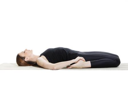 Yoga Reclining Hero Pose -  Supta Virasana