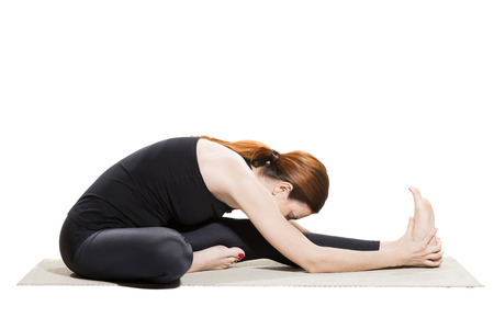 janu: Yoga Head-to-Knee Forward Bend - Janu Sirsasana