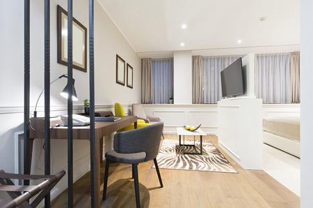 living room interior: Hotel living room interior