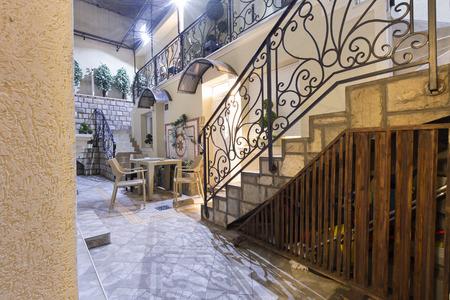 atrium: Beautiful home atrium and stairs