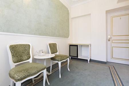 luxury hotel room: Interior of a luxury classic hotel room