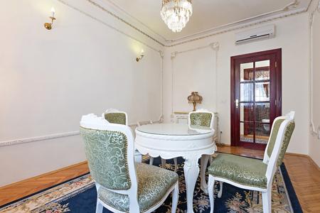 interior room: Elegant dining room interior