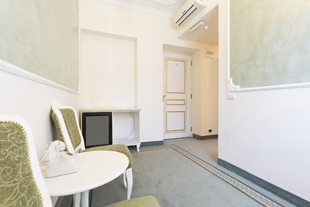 interior room: Elegant hotel room interior