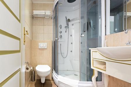 bathroom interior: Interior of an elegant bathroom Stock Photo