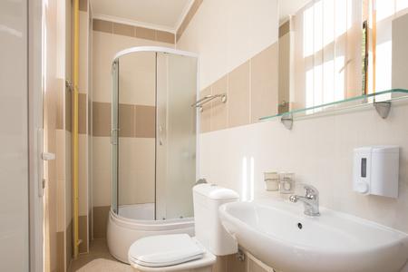 modern bathroom: Interior of  a modern bathroom Stock Photo