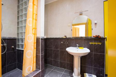 modern bathroom: Interior of a modern bathroom