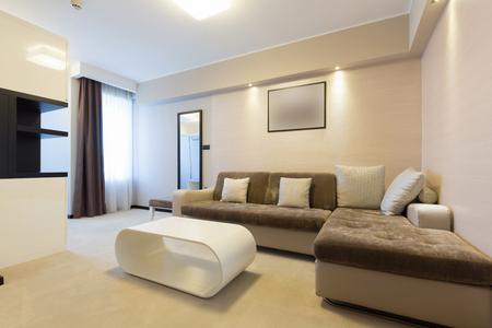 interior room: Modern hotel room interior