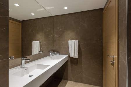 Interior of a hotel bathroom interior Stock fotó