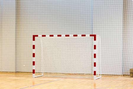 Goal in a multipurpose sport hall