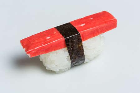 Nigiri crab sushi Standard-Bild