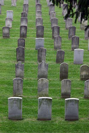 Campus cemetery in Georgetown University, Washington DC Imagens