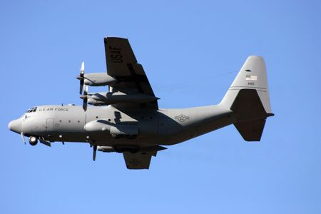 Bomber is taking off in Alaska, near Seward
