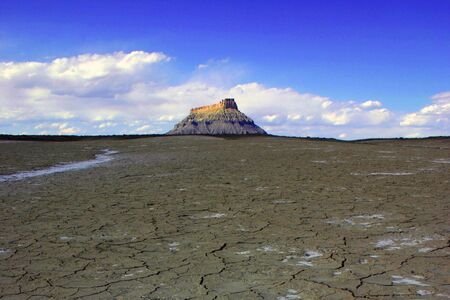 Dry Desert near Bryce Canyon national park in Utah, USA