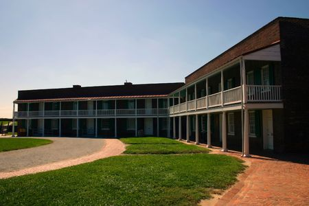 Fort McHenry national monument and historic shrine in Baltimore, Maryland