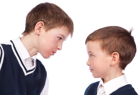 Conflict between two pupils, isolation